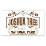 Joshua Tree National Par Sticker (Rectangle 50 pk)