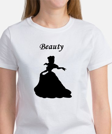 beauty and bear beast center Women's T-Shirt