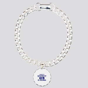 Property of District Of Columbia Charm Bracelet, O