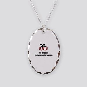 My Dream Necklace Oval Charm