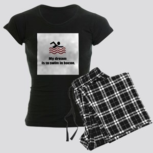 My Dream Women's Dark Pajamas