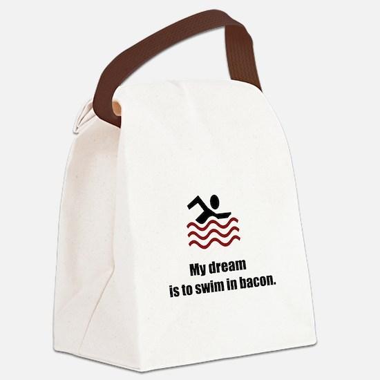 My Dream Canvas Lunch Bag