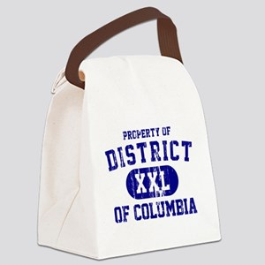 Property of District Of Columbia Canvas Lunch Bag