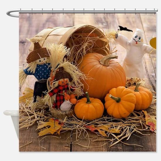 Fall Season Shower Curtain