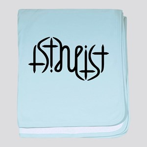 Atheist Either Way baby blanket