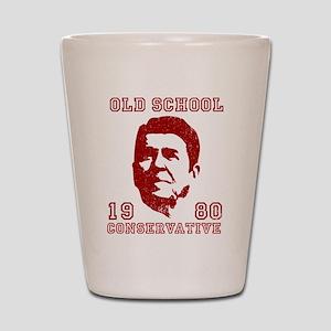 Old School Conservative Shot Glass