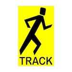 yytrack Sticker (Rectangle 50 pk)