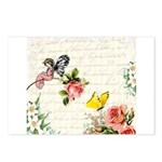 Vintage fairy garden Postcards (Package of 8)