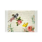 Vintage fairy garden Rectangle Magnet (100 pack)