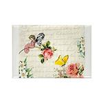 Vintage fairy garden Rectangle Magnet (10 pack)