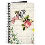 Vintage fairy garden Journal