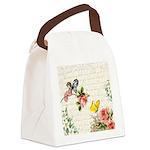 Vintage fairy garden Canvas Lunch Bag