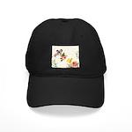 Vintage fairy garden Black Cap