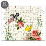 Vintage fairy garden Puzzle