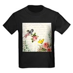 Vintage fairy garden Kids Dark T-Shirt