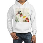 Vintage fairy garden Hooded Sweatshirt