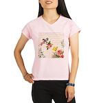 Vintage fairy garden Performance Dry T-Shirt