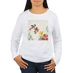 Vintage fairy garden Women's Long Sleeve T-Shirt