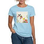 Vintage fairy garden Women's Light T-Shirt