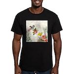 Vintage fairy garden Men's Fitted T-Shirt (dark)