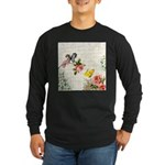 Vintage fairy garden Long Sleeve Dark T-Shirt