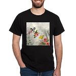 Vintage fairy garden Dark T-Shirt