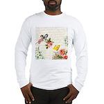 Vintage fairy garden Long Sleeve T-Shirt