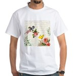 Vintage fairy garden White T-Shirt