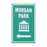 MorganParkSign3x5a Sticker (Rectangle 50 pk)