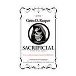 Sacrificial White Wine L Sticker (Rectangle 50 pk)