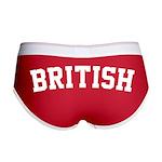 British Women's Boy Brief