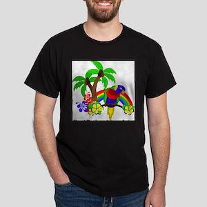 Ring of Fire Parrot Dark T-Shirt