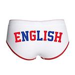 English Women's Boy Brief