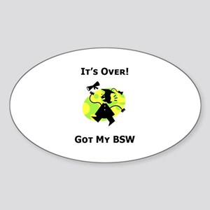 Got My BSW Oval Sticker