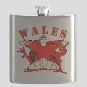 Wales football celebration Flask