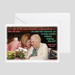 'Beautiful' Greeting Card