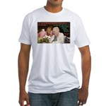 'Beautiful' Fitted T-Shirt
