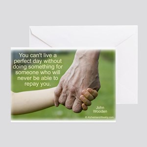 'Perfect Day' Greeting Card