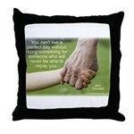 'Perfect Day' Throw Pillow
