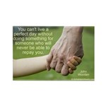 'Perfect Day' Rectangle Magnet (10 pack)