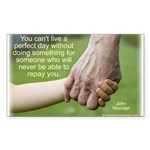 'Perfect Day' Sticker (Rectangle 10 pk)