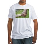 'Perfect Day' Fitted T-Shirt
