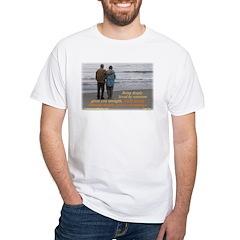 'Courage' White T-Shirt
