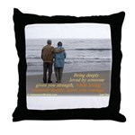 'Courage' Throw Pillow