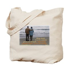 'Courage' Tote Bag