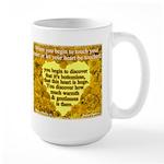 'Courage' Large Mug