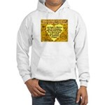 'Courage' Hooded Sweatshirt
