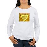 'Courage' Women's Long Sleeve T-Shirt