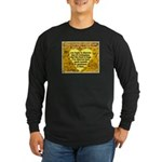 'Courage' Long Sleeve Dark T-Shirt
