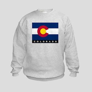 Colorado State Flag Kids Sweatshirt